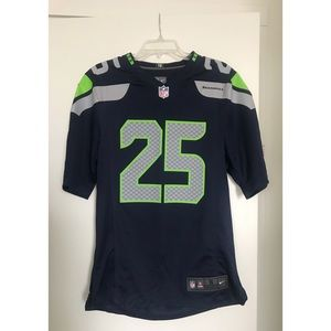 Size Small. Seattle Seahawks Jersey. Sherman #25